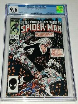Spectacular Spider-man #90 CGC 9.6 NM+ White Marvel 1984 1st Black Suit in Title