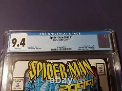 Spider-Man 2099 #1 CGC 9.4 NM- 2nd print white RARE Sony movie