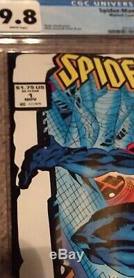 Spider-Man 2099 #1, Rare 2nd Print White ToyBiz Variant CGC 9.8 HTF In Grade