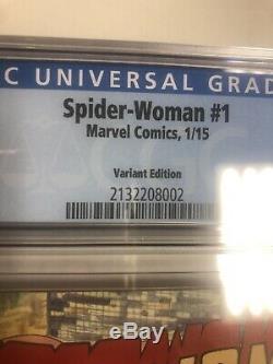 Spider-Woman (2015) # 1 (CGC 9.8 White Pages) Milo Manara Variant 150