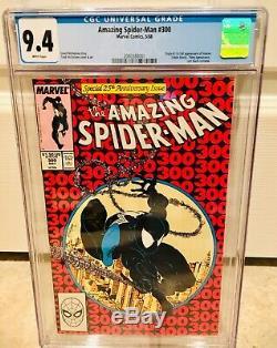 Spider-man #300 Cgc 9.4 White Pages 1st Venom Eddie Brock Venom 2 Movie