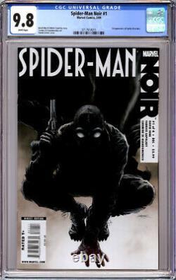 Spider-man Noir #1 Cgc 9.8 White Pages Into The Spider-verse Movie 2009