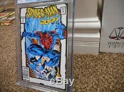 Spiderman 2099 1 cgc 9.4 WHITE cover Toy Biz 2nd print Variant NM MINT RARE nice