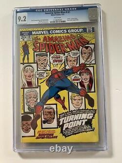 The Amazing Spider-Man #121 CGC 9.2 White pages