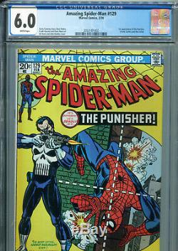 The Amazing Spider-Man #129 (Marvel 1974) CGC Certified 6.0 White Pages