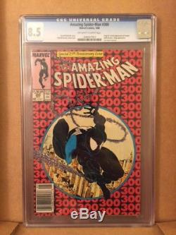 The Amazing Spider-Man #300 CGC 8.5 white pages 1st. Appearance of Venom