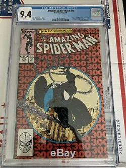 The Amazing Spider-Man #300 (May 1988, Marvel) CGC 9.4 & #361 CGC 9.6 White Pgs