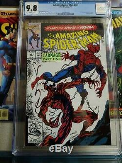 The Amazing Spider-Man #361 (Apr 1992, Marvel) CGC 9.8 NM/MT White 2080667025