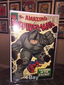 The Amazing Spider-Man #41 1st Appearance Rhino High Grade CGC Ready White Pages