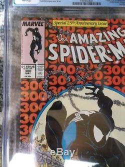 The Amazing Spider-man #300 Cgc 9.8 White Pages Mint Nm 1st Venom Todd Mcfarlane