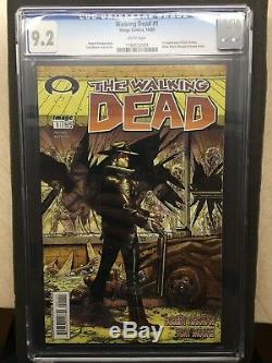 The Walking Dead #1 (First Print) CGC 9.2 White Mature Readers Image Comics TWD