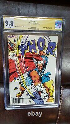 Thor #337 CGC 9.8 SS Walter Simonson white pgs. 1st Beta Ray Bill Newsstand ed