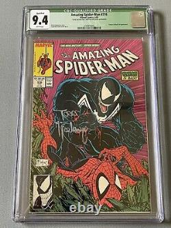 Todd McFarlane Signed Amazing Spiderman #316 CGC 9.4 White Pages