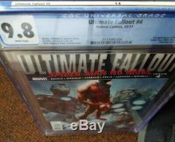 ULTIMATE FALLOUT 4 First Print CGC 9.8 white pages