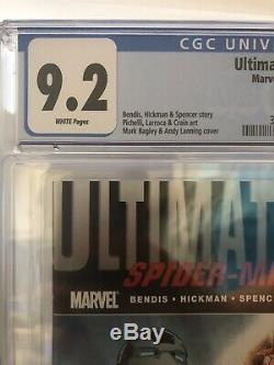 Ultimate Fallout #4 CGC 9.2 White (Marvel 10/11) 1st appearance Miles Morales