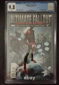 Ultimate Fallout #4 CGC 9.8 White Pages 1st Print 1st App. Miles Morales