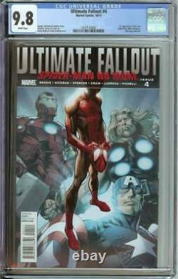 Ultimate Fallout #4 Cgc 9.8 White Pages // 1st App Miles Morales As Spider-man