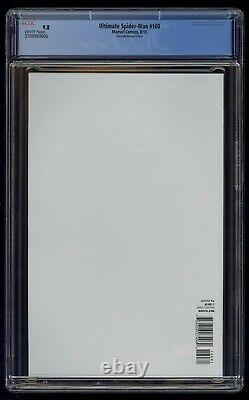 Ultimate Spider-Man (2009) #160 Quesada Color Variant CGC 9.8 Blue Lbl White Pgs