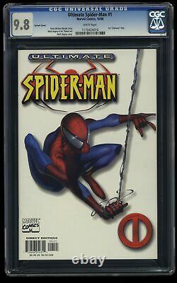 Ultimate Spider-man #1 CGC NM/M 9.8 White Variant Cover