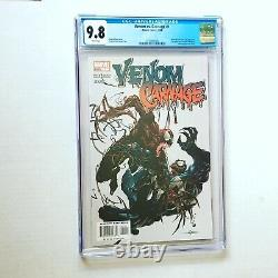 VENOM VS CARNAGE #1 CGC 9.8 White Pages 1ST APPEARANCE TOXIN Patrick Mulligan