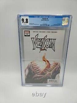 Venom 3 CGC 9.8 White Pages 1st Full Appearance Of Knull 2018 Cates, Stegman
