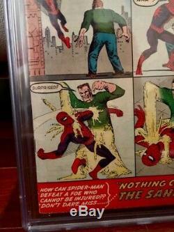 WHITE PAGES The Amazing Spiderman #4 CGC 5.0 1ST APP SANDMAN & BETTY BRANT! 1963