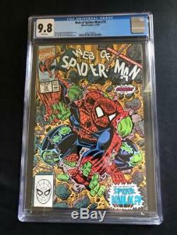 Web of Spider-Man #70 CGC 9.8 White Pages 1st Appearance of Spider-Hulk