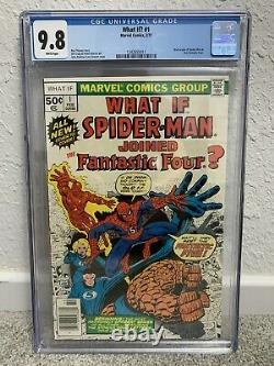What If #1 Cgc 9.8 White Pages Nm/mint Spider-man Joined Fantastic Four