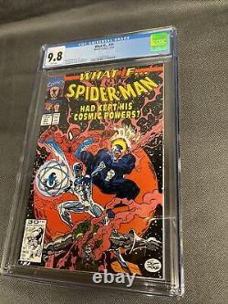 What If. #31 (2nd Series 1991) Cosmic Venom Key Issue CGC 9.8 White Pages