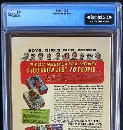 X-MEN #35 (1967) CGC 8.5 White Pgs 1st App of Changeling! Spider-Man App