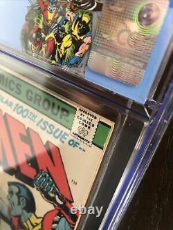 X-Men #100 CGC 6.0 OWith WHITE 30 Cent Price Variant Old Vs New Team Custom Label